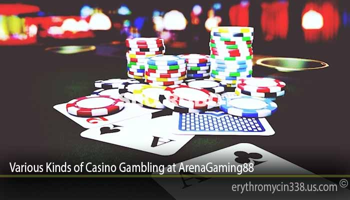 Various Kinds of Casino Gambling at ArenaGaming88